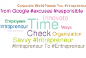 Being an intrapreneur