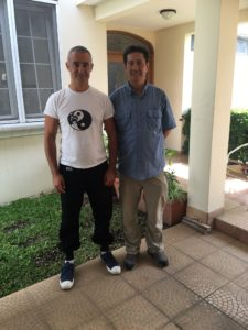 mindfulness and exercise with Sifu Tong Chi Kin